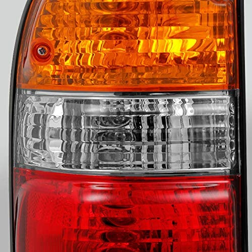 For 01-04 Toyota Tacoma Pickup Red Amber Tail Light Brake Lamp Brake Light Passenger Right Side Replacement