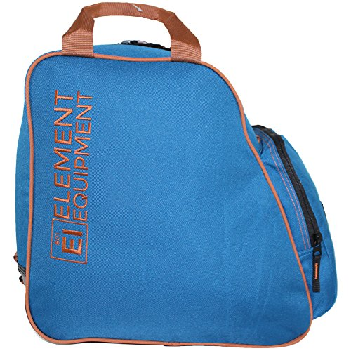 Element Equipment Boot Bag Snowboard Ski Boot Bag Pack Navy/Brown