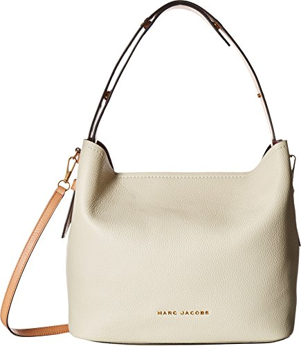 Marc Jacobs Women's Road Hobo Bag, Antique White, One Size - Marc Jacobs White Bag