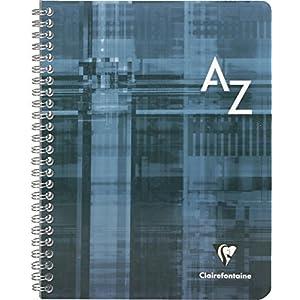 Clairefontaine 8998 C 17 x 22 cm Seyes Rayado índice de espiral libro