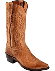 Lucchese Mens Handcrafted 1883 Mad Dog Goatskin Cowboy Boot Snip Toe - M1008 54