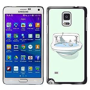 Dragon Case - FOR Samsung Galaxy Note 4 - No matter what you do - Caja protectora de pl??stico duro de la cubierta Dise?¡Ào Slim Fit