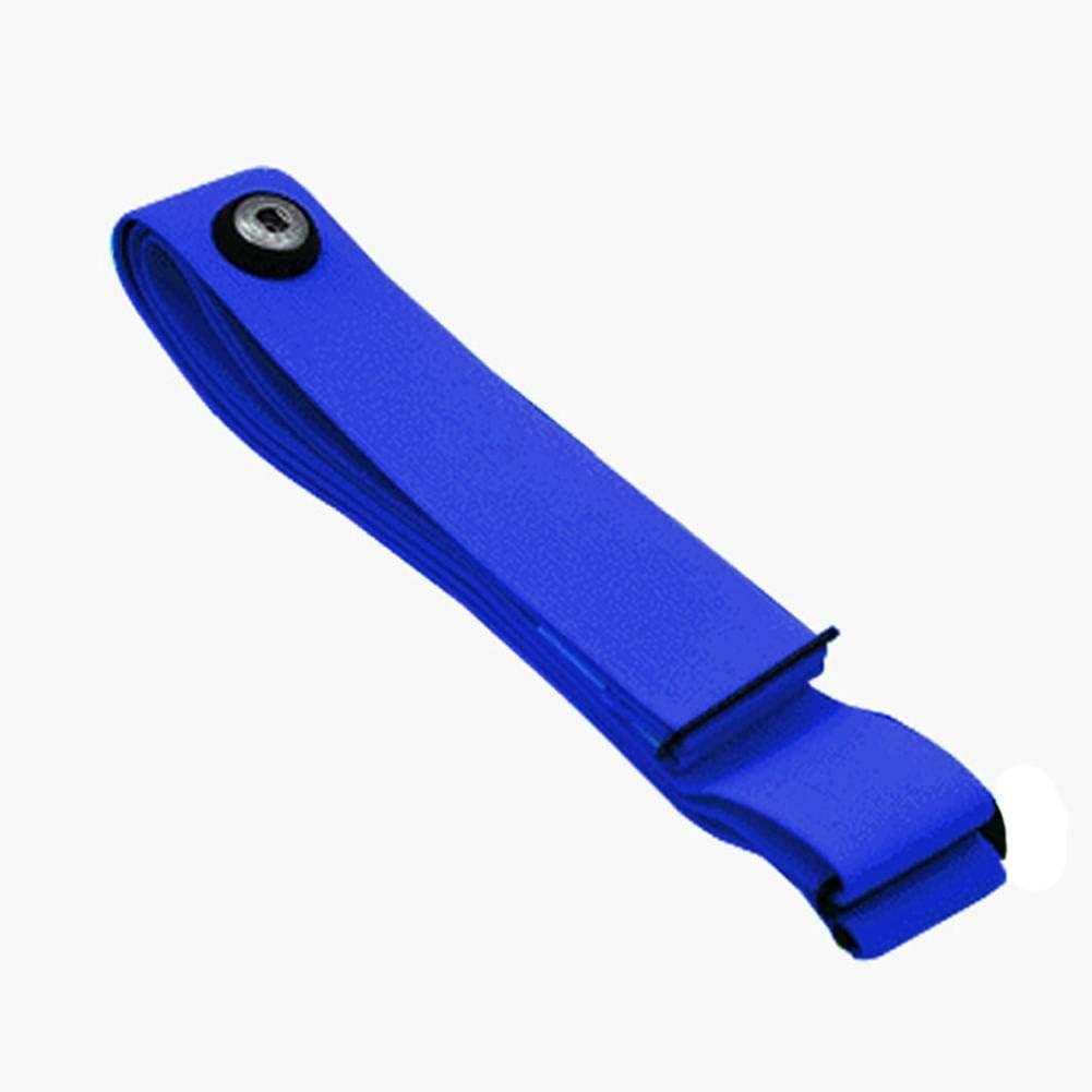 LINKLANK Herzfrequenzmesser-Gurt Weicher Brustgurt-Gurt-Ersatz Justierbarer Sport-Herzfrequenzmesser-Brustgurt-weicher Gurt Bequem F/ür Herzfrequenz-Sensor