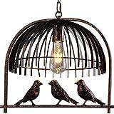 Traditional Birdcage Bronze Pendant Lighting