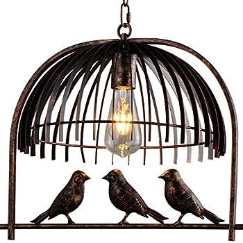 Industrial retro birdcage bronze pendant lighting battaa cti5010 industrial retro birdcage bronze pendant lighting battaa cti5010 2018 new design creative lovely aloadofball Choice Image