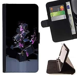 For Huawei Ascend P8 Lite (Not for Normal P8) Case , Resumen de Lonely- la tarjeta de Crédito Slots PU Funda de cuero Monedero caso cubierta de piel