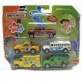 : Matchbox Nick Jr Set of 5 Diecast Cars