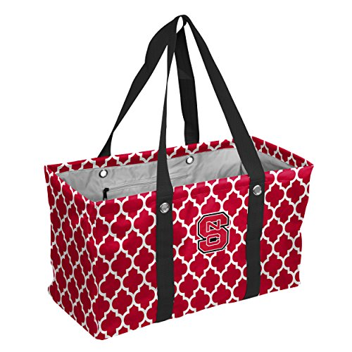North Carolina Nfl - Logo Brands Collegiate Large Collapsible Picnic Tote North Carolina State Wolfpack, Red, One Size