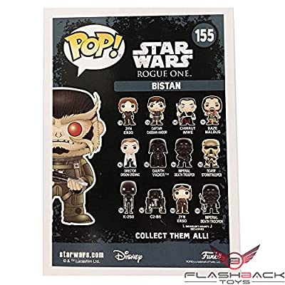 Funko Pop Star Wars Bistan NYCC 2016 Exclusive Vinyl Figure [Rogue One]: Toys & Games