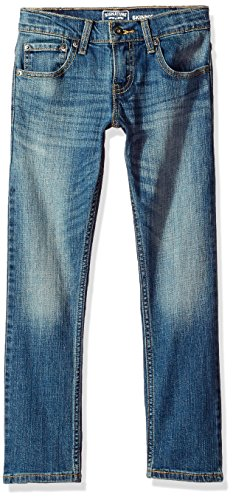 Signature by Levi Strauss & Co. Gold Label Big Boys' Slim Straight Fit Jeans, Shark