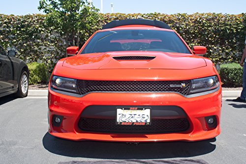 Big Mike's Performance Parts License Plate Bracket for 2015-2018 Dodge Charger SRT Scat Pack Hellcat ()