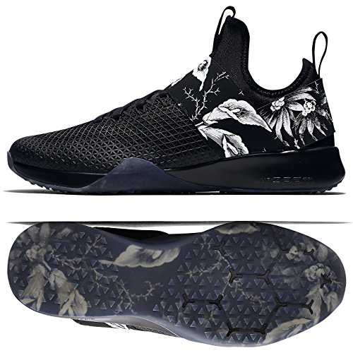 Nike Femmes Wmns Air Zoom Fort, Noir / Blanc Noir / Blanc