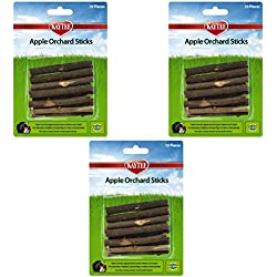 SuperPet Apple Orchard Sticks (Pack of 3)
