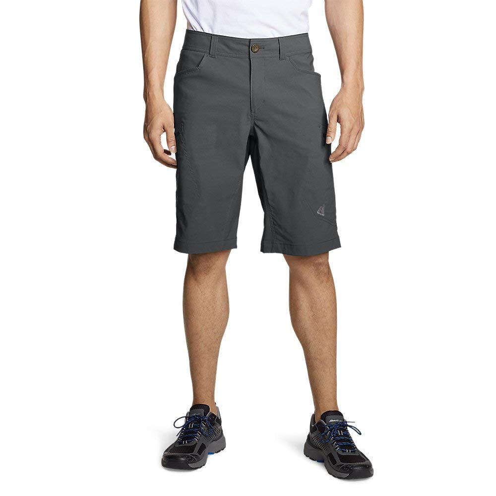 Eddie Bauer Men's Guide Pro Shorts, Dk Smoke Regular 42 by Eddie Bauer