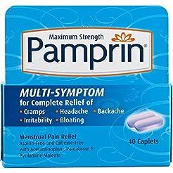 Pamprin Menstrual Pain Relief Maximum St...