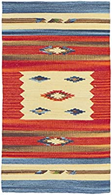 Jute & Co. Kilim - Alfombra tapete (algodón, Tejido a Mano, 55 x ...
