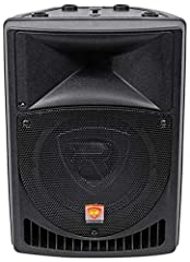 The Rockville RPG8 powered PA speaker is simply amazing in terms of sound quality, and raw power! This speaker has an incredible 400 watts of peak power and will deliver a massive amount of bass, mids, and highs. The ultra-efficient design is...