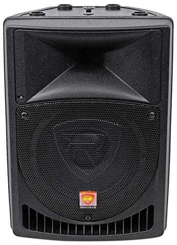 Rockville RPG8 8' Powered Active 400 Watt 2-Way DJ PA Speaker System