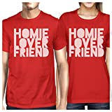 Best 365 Printing Friend Matching Gifts - 365 Printing Homie Lover Friend Red Matching Couple Review