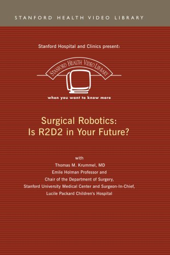 Surgical Robotics: Is R2D2 in your Future?