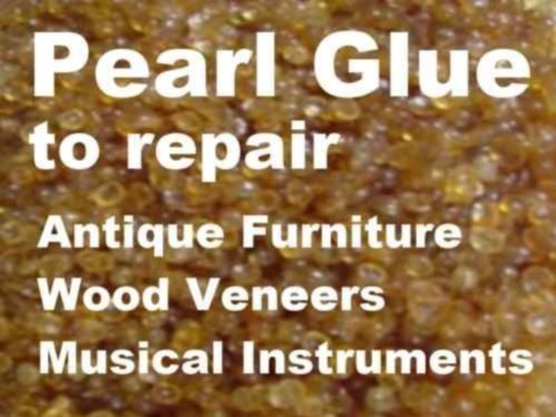 Bolgers - Pearl Glue - Natural Hide Glue for Wood, Cloth & Leather 1KG Endless Green Group Ltd