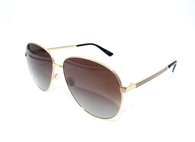 Amazon.com: anteojos de sol Gucci GG 0138 S- 005 color ...