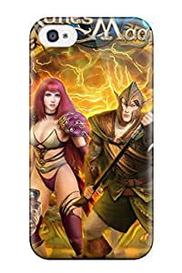 New Fashionable Willis White SREetxG3698uCNEa Cover Case Specially Made For Iphone 4/4s(runes Of Magic)