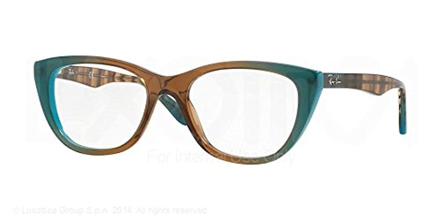 f83494e723 Amazon.com  Ray-Ban Women s 0RX5322 Gradient Brown Azure One Size  Shoes
