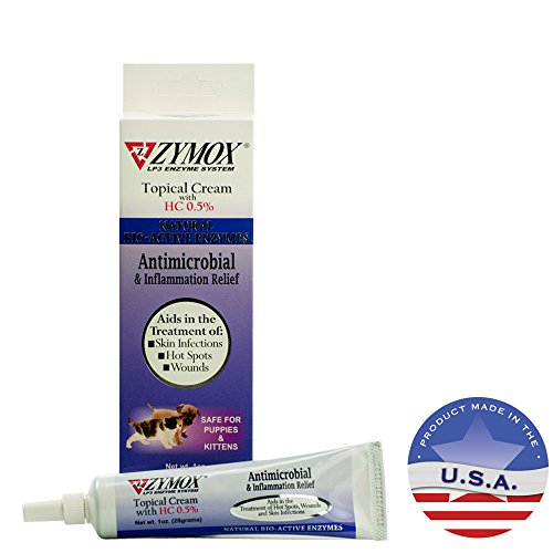 Zymox Topical Cream - ZYMOX DZY22905 Topical Cream, 1-Ounce