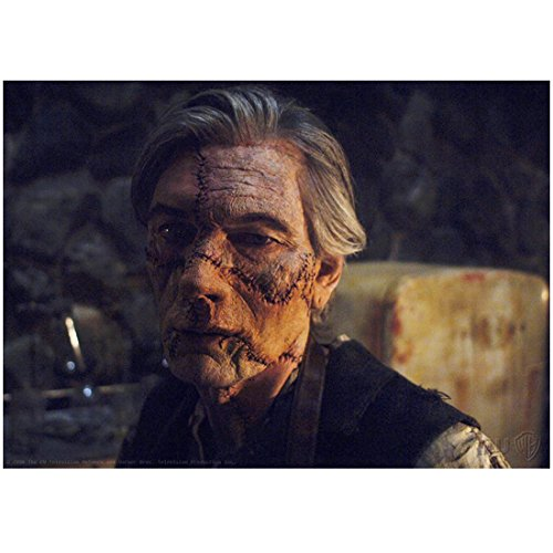 (Billy Drago 8 inch X 10 inch photograph Supernatural (TV Series 2005 - ) Scarred/Stitched Face kn)