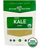 Nature Restore USDA Certified Organic Kale Powder, Non-GMO (8 ounces), Perfect for Shakes, Greens Superfood Blends For Sale