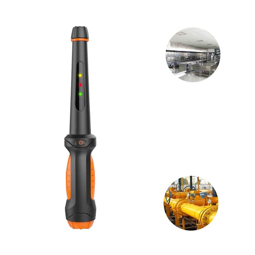 Miuson - Sensor de alarma de gas combustible, portátil, detector de fugas de gas natural, probador de propano, butano y metano: Amazon.es: Bricolaje y ...