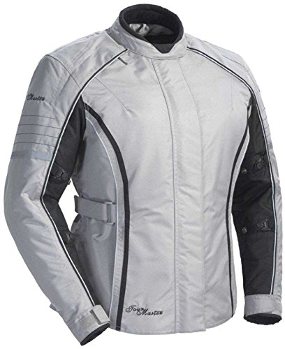 Tourmaster Women's Trinity Series 3 Silver Textile Jacket - Medium