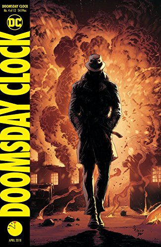 DOOMSDAY CLOCK #4 (OF 12) VAR ED Release date 2/28/18 -