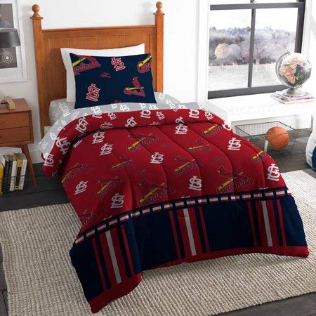 Official St.LouisCardinals Twin Bed in Bag Set ()