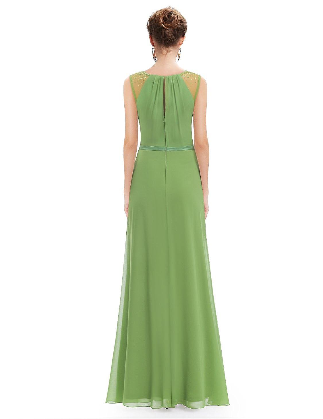 b2f4e5c553c Ever-Pretty Womens Elegant Sleeveless Long Chiffon Bridesmaids Dress 08742  at Amazon Women s Clothing store