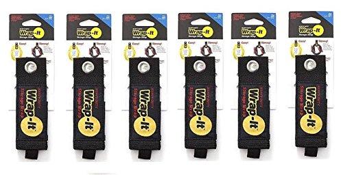 Wrap-It Storage 100-30B Strap, Large, Black (Storage Strap)