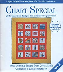 Chart Special. 20 cross stitch designs for a children's playroom.