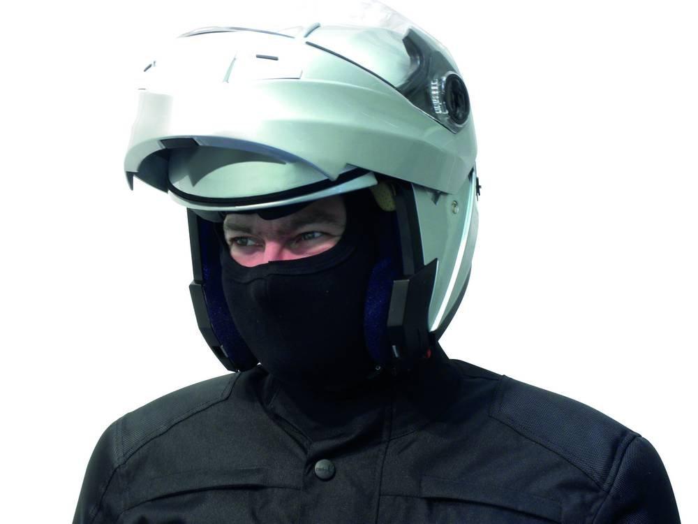 MOTORX 4290340 Motorradhelm-M/ütze Schwarz