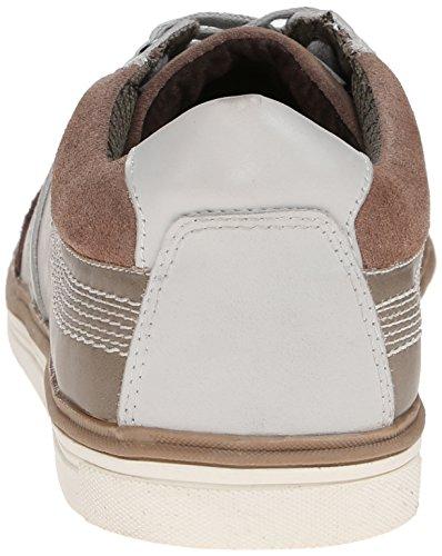 Kenneth Cole Reazione Mens Post Up Fashion Sneaker Grigio Chiaro