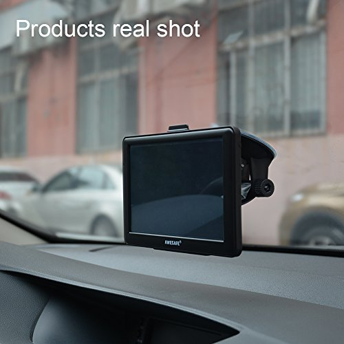 GPS Navigation for continuous-duty motor vehicle AWESAFE 7 inches feel screen 8GB Navigation System for Cars longer time to come North America Map revisions In Dash Navigation