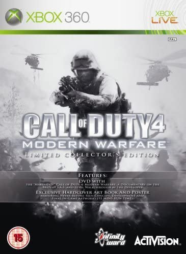 Call of Duty 4: Modern Warfare [Limited Collectors Edition]: Amazon ...