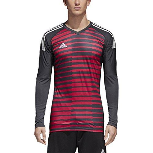 (adidas Adipro 18 Goalkeeper Jersey - Dark Grey/Unity Pink F16/White (XL))