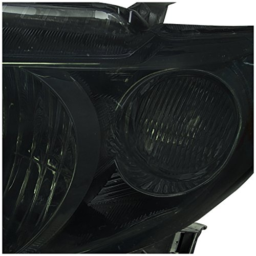 Spec-D Tuning 2LH-COR09G-RS Toyota Corolla CE XRS XLE Sedan 4Dr JDM Smoke Headlights Lamps