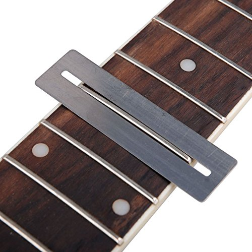 Separador de Cuerdas de Guitarra Trastes de Luthier Cuerdas Polacas Herramienta Separada de Metal para Folk Classic Acoustic Guitarras El/éctricas Bajo Reparar Mantenimiento
