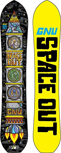 GNU Club Collection Space Out Snowboard Mens