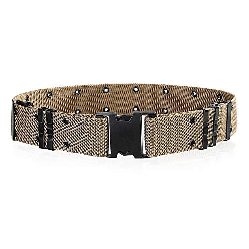 OFEFAN Survival Tactical Belt, Emergency Fire Rescue Rigger Waist Belt Military CQB Belt