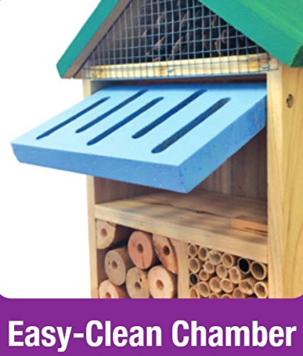 Nature's Way Bird Products CWH7 Better Gardens Beneficial Insect House, 4 Chamber by Nature's Way Bird Products (Image #3)