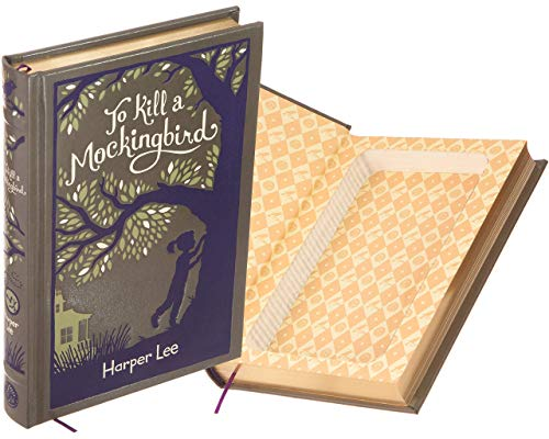 Handmade Book Safe - To Kill a Mockingbird by Harper Lee (Leather-bound) (Magnetic Closure)