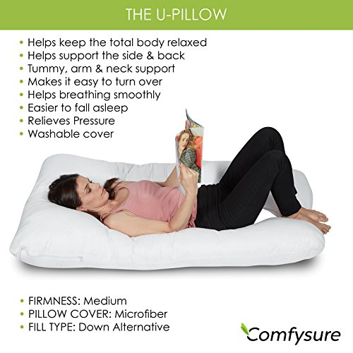 ComfySure Pregnancy entire Body Pillow U Body Pillows
